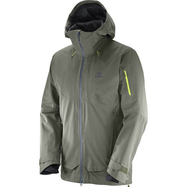 Salomon Men's QST Guard Ski Jacket - Beluga