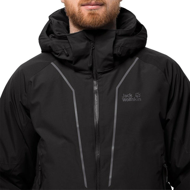 Jack Wolfskin Men's Escalente Trail Insulated Recycled Waterproof Jacket - Black