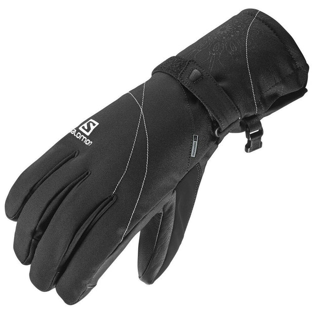 Salomon Women's Propeller Dry Ski Gloves - Black