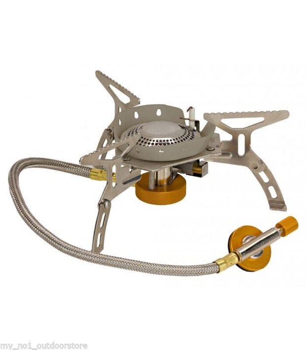 Vango Folding Piezo Camping Gas Stove with Windshield