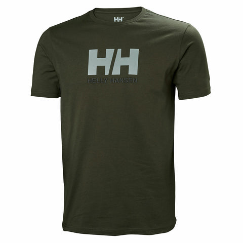 Helly Hansen Men's Short Sleeved Logo T Shirt