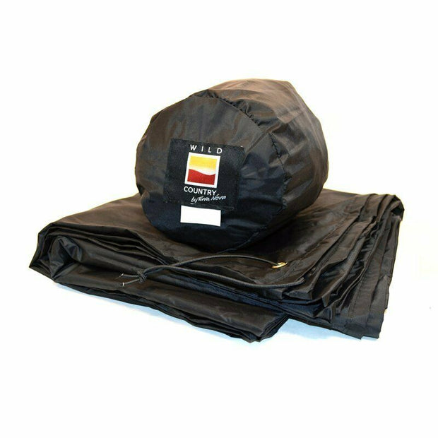 Wild Country Coshee Micro 1 Waterproof Tent Groundsheet Footprint - Black