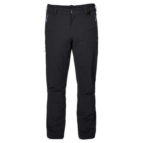 Jack Wolfskin Men's Activate XT Softshell Walking Trousers - Black