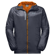 Jack Wolfskin Men's Air Lock Outdoor Sports Running Jacket - Ebony