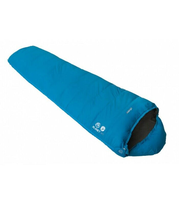 Vango Planet 140 Down Sleeping Bag - Thunder Blue
