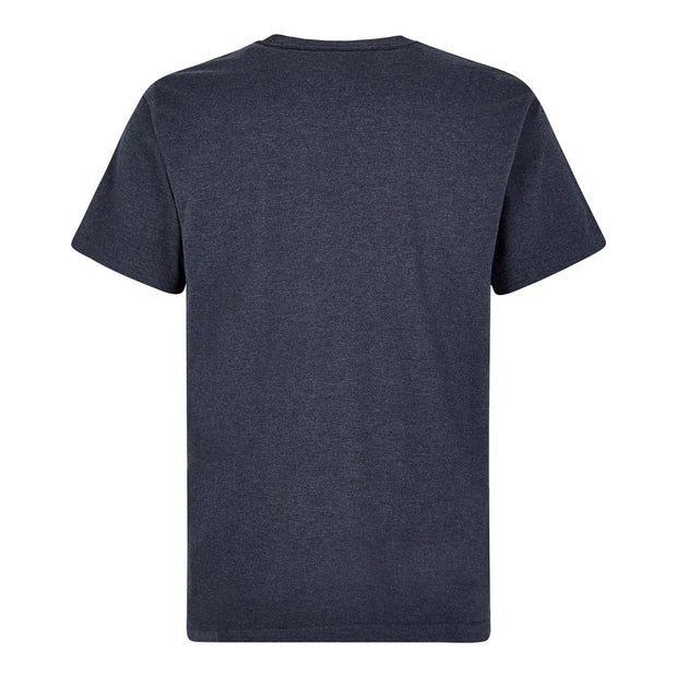 Weird Fish Men's New Fished Branded T-Shirt - Navy Marl