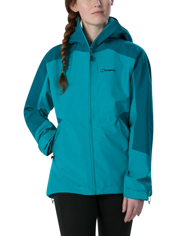 Bergahus Women's Parvati Gore-Tex Walking Jacket - Turquoise