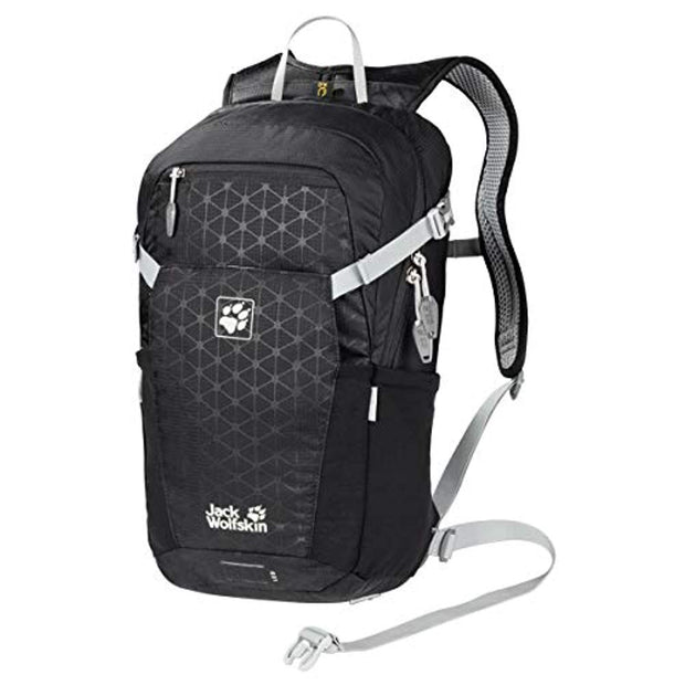 Jack Wolfskin Alleycat 18 Bike Pack - Black Grid