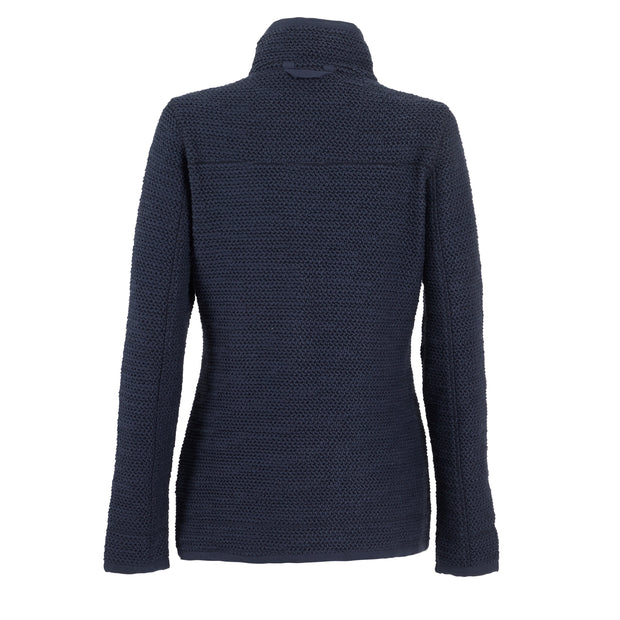 Weird Fish Women's Aria 1/4 Zip Eco Macaroni Top - Navy