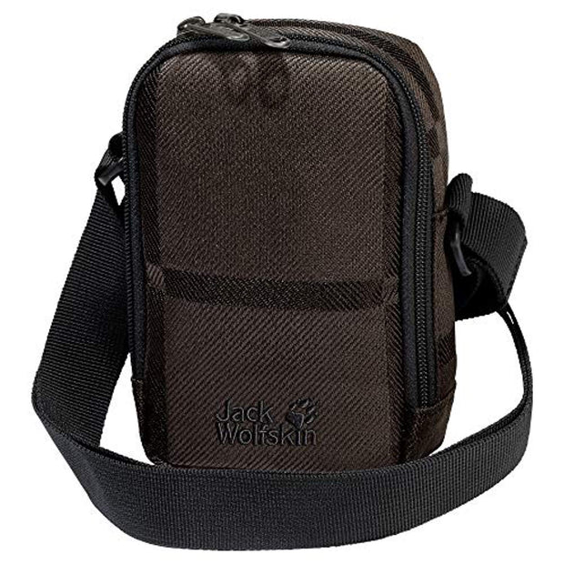 Jack Wolfskin Secretary Y.D. Shoulder Bag - Brown Big Check