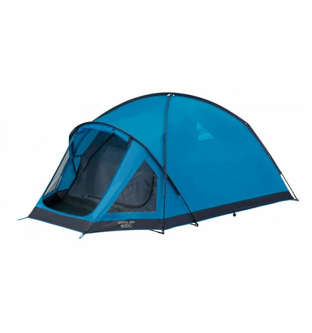 Vango Sigma 300 3 Person Adventure Tent - River Blue