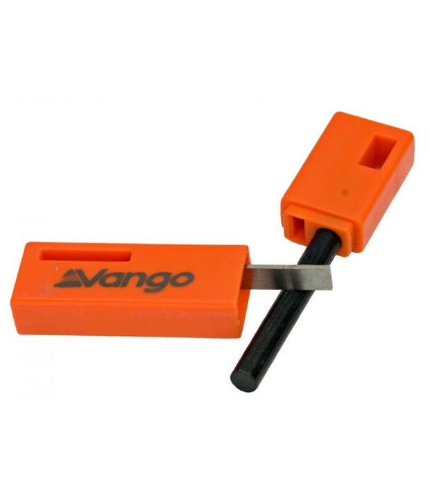 Vango Ignite Magnesium Alloy Fire Starter - Orange
