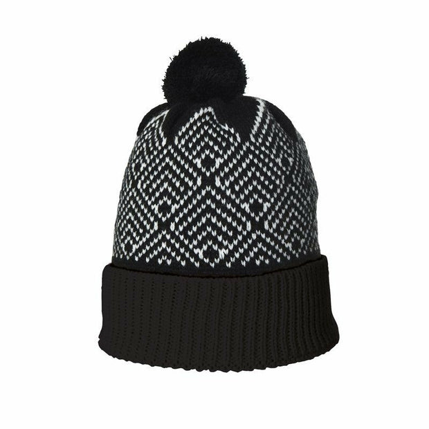 Extremities Antares Glow in the Dark Bobble Beanie - Black
