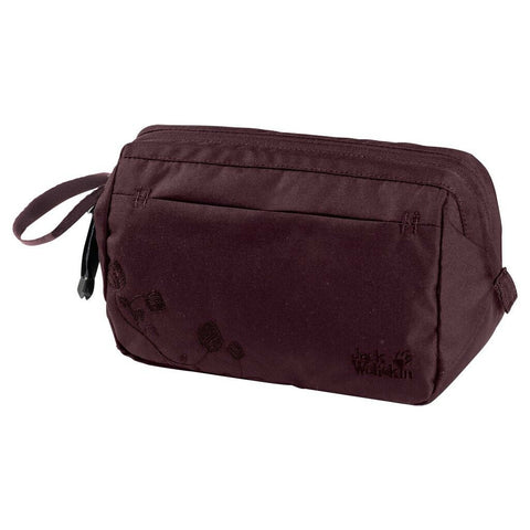 Jack Wolfskin Space Talent Wash Bag - Burgundy
