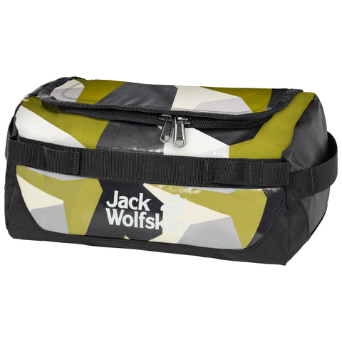 Copy of Jack Wolfskin Expedition Wash Bag - Green Geo Block