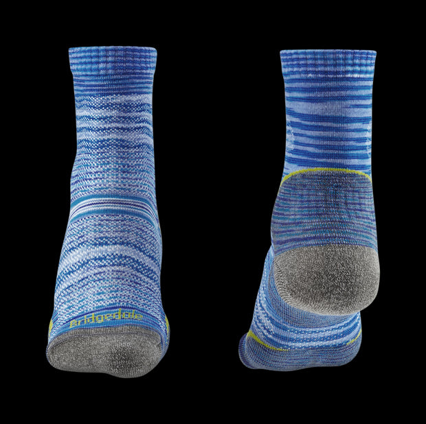 Bridgedale Women's Ultra Light Cushioned T2 3/4 Crew Merino Performance Socks