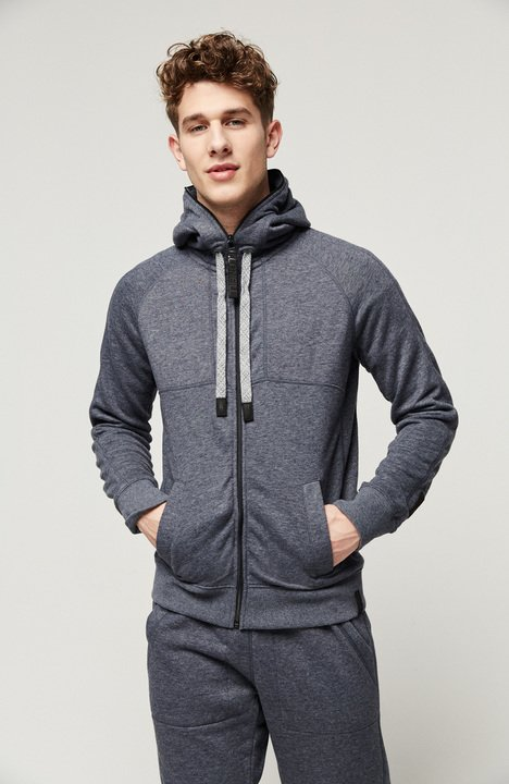 O'Neill Men's Santa Cruz Premium Full Zip Hoody - Ink Blue