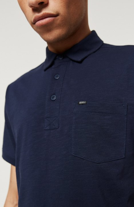 O'Neill Men's Jack's Base Polo Shirt - Ink Blue