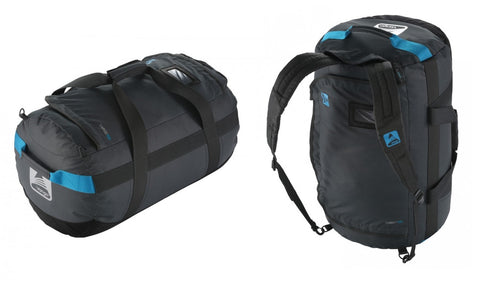 Vango Cargo Travel Duffle Barrel Bag - Grey/Blue