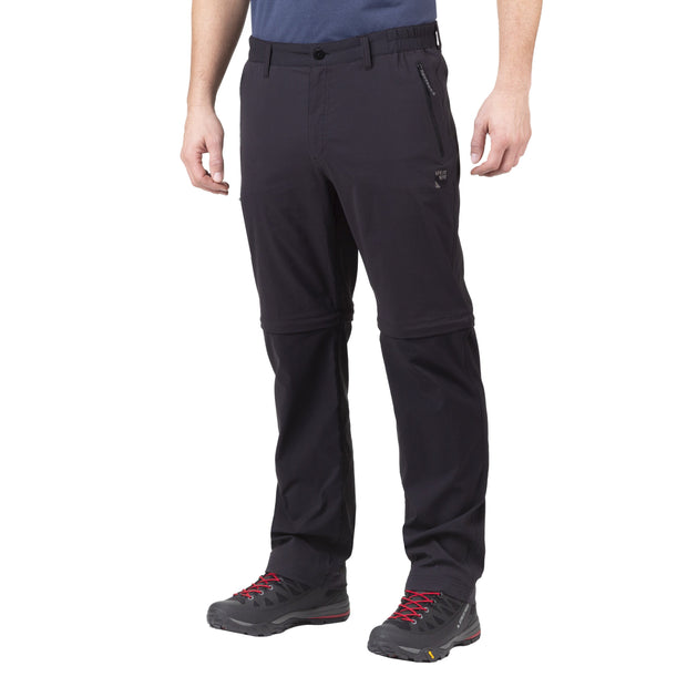 Sprayway Men's Compass Combi Convertible Walking Trousers (Reg Leg) - Black