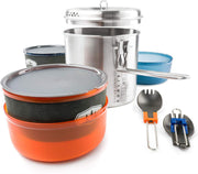 GSI Outdoors Glacier Stainless Dualist VII Camp Kitchen Set