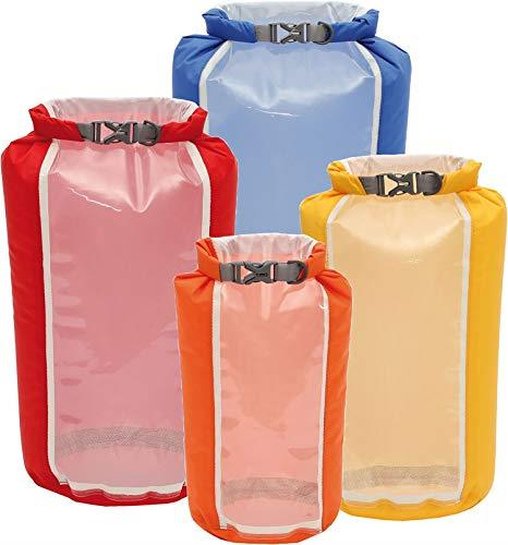 Exped Fold Drybags Clear Sight - 4 Pack XS - L