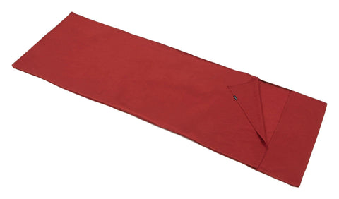 Trekmates Cotton Sleeping Bag Liner - Hotelier Red