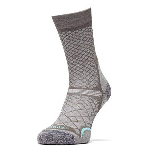 Bridgedale Women's Hike Ultralight Coolmax Performance Sock - Grey