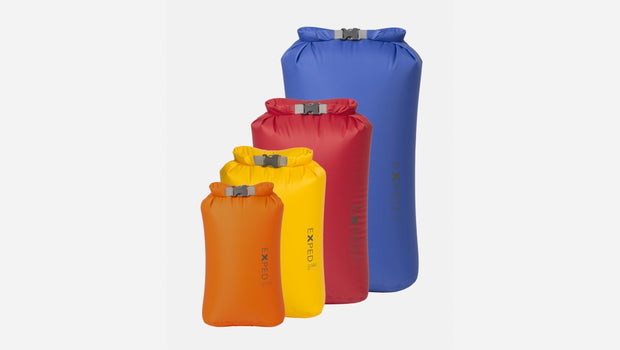 Exped Fold Dry Bag BS - 4 Pack X-Small - Large