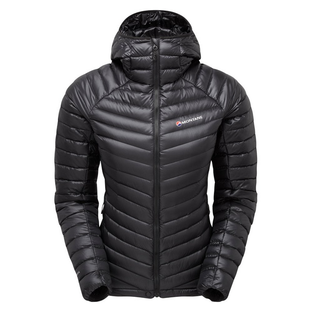 Montane Women's Future Lite Hoodie Down Jacket - Black
