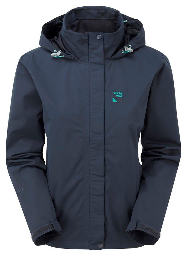 Sprayway Women's Gemini Lightweight Waterproof Jacket - Blazer Navy