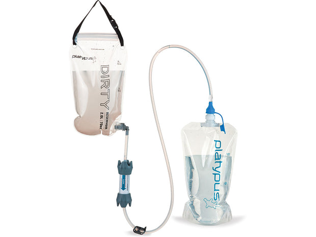 Platypus GravityWorks 2.0L Water Filter System - Complete Kit