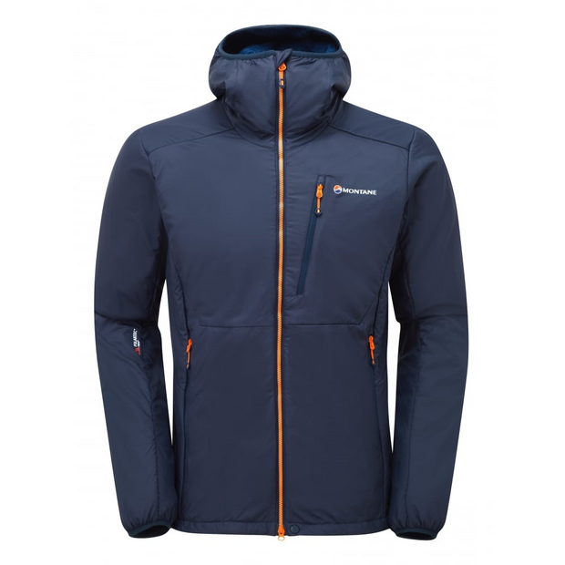 Montane Men's Hydrogen Direct Fleece Pile Lined Jacket - Antarctic Blue