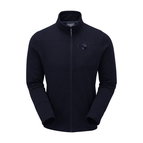 Sprayway Men's Minos Full Zip Fleece Jacket - Blazer Navy