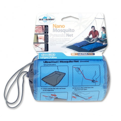 Sea To Summit Nano Mosquito Pyramid Net - Double