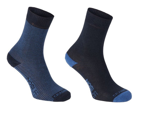 Craghoppers Women's NosiLife Twin Pack Travel Sock