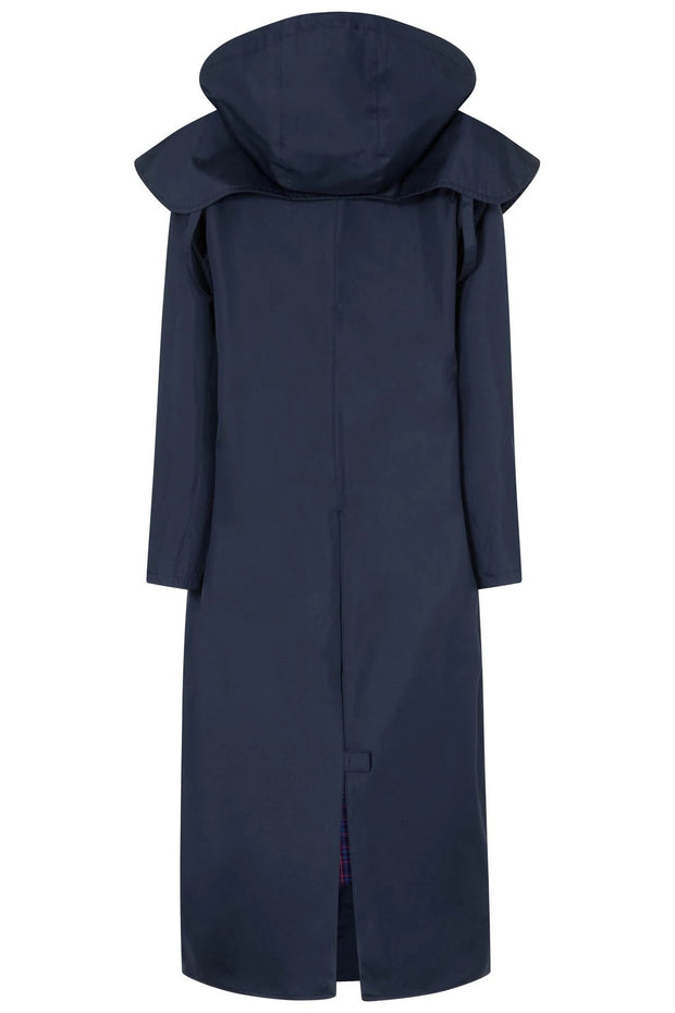Lighthouse Women's Outback Full Length Waterproof Raincoat - Nightshade Navy