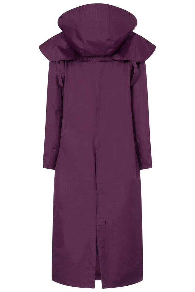 Lighthouse Women's Outback Full Length Waterproof Raincoat - Plum