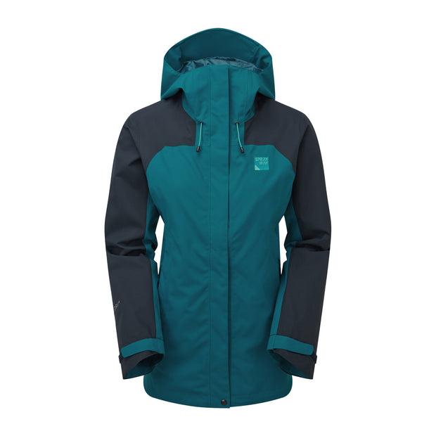 Sprayway Women's Oust Waterproof Walking Jacket - Lyons Blue/Blazer