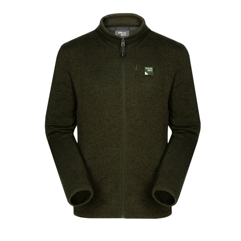Sprayway Men's Minos Full Zip Fleece Jacket - Woodland Green