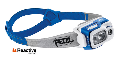 Petzl Swift RL Reactive Lighting 900 Lumens LED Headtorch