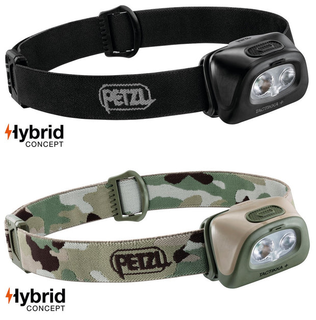 Petzl Hybrid Concept Tactikka + 350 Lumens LED Headtorch