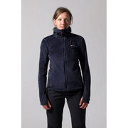 Montane Women's Wolf Hoodie Full Zip Fleece - Antarctic Blue