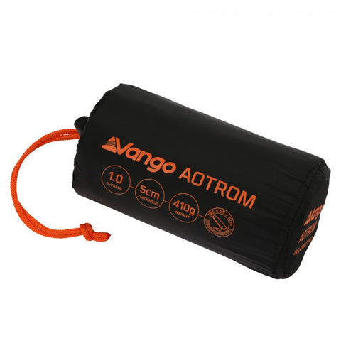 Vango Aotrom 5cm Trek Single Lightweight Sleeping Mat  - Anthracite