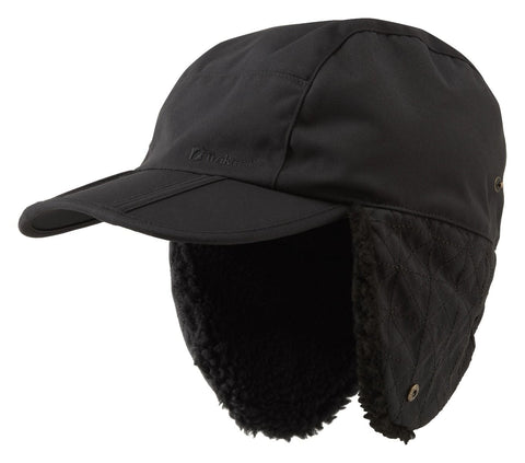 Trekmates Cowley Sherpa Lined Cap - Black