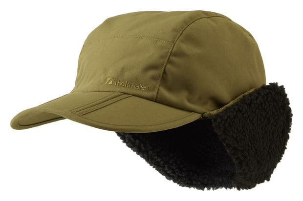 Trekmates Cowley Sherpa Lined Cap - Dark Olive