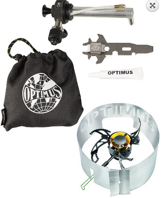 Optimus Polaris Optifuel Tactical Multifuel Stove - Black