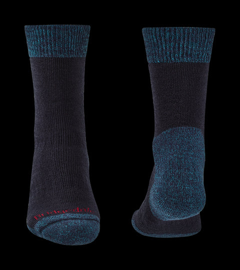 Bridgedale Men's Merino Comfort Explorer Heavyweight Boot Socks - Navy