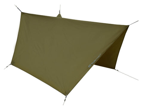 Trekmates Hexagon Tarp - Dark Olive