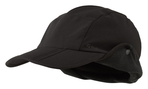 Trekmates Higgor Gore-Tex Windstopper Softshell Lined Cap - Black